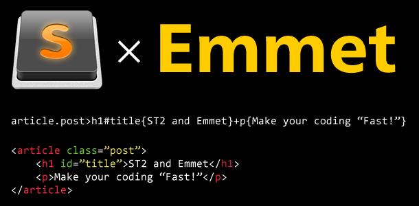 sublimetext2-emmet